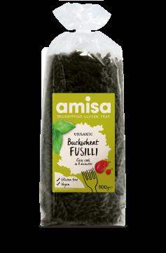 Amisa Organic Gluten Free Buckwheat Fusilli