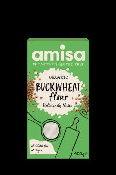 Amisa Organic Gluten Free Buckwheat Flour