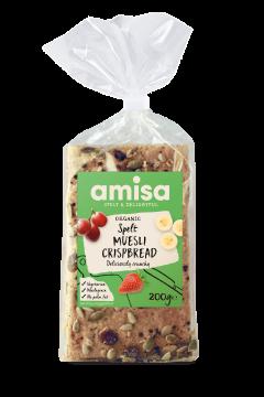 Amisa Organic Spelt Muesli Crispbread