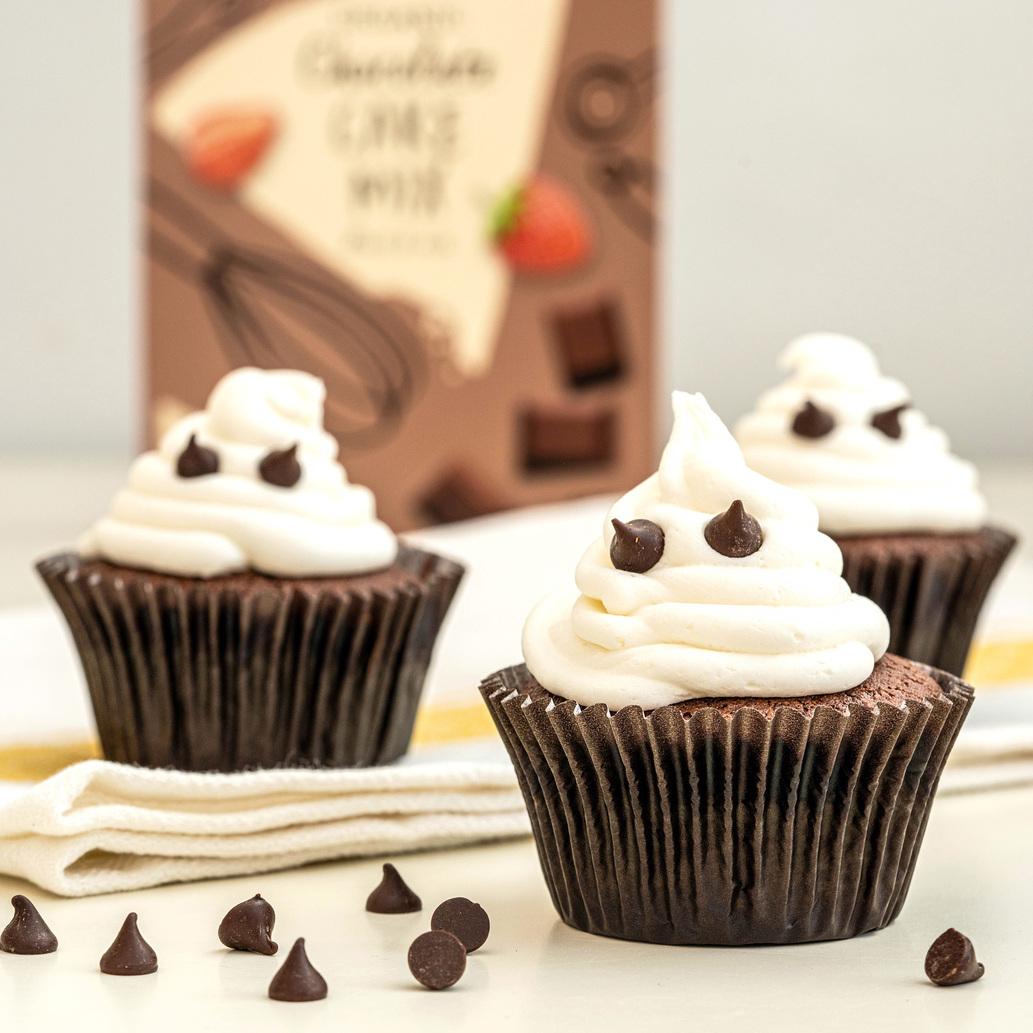 Amisa Gluten Free Halloween Ghost Cupcakes