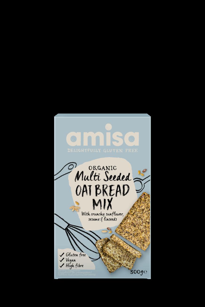 Amisa Organic Multi Seeded Oat Bread Mix
