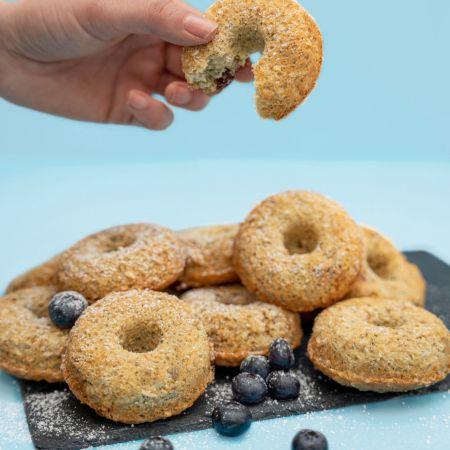 Amisa gluten free baked oat doughnuts